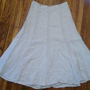 GAP Linen Boho Skirt